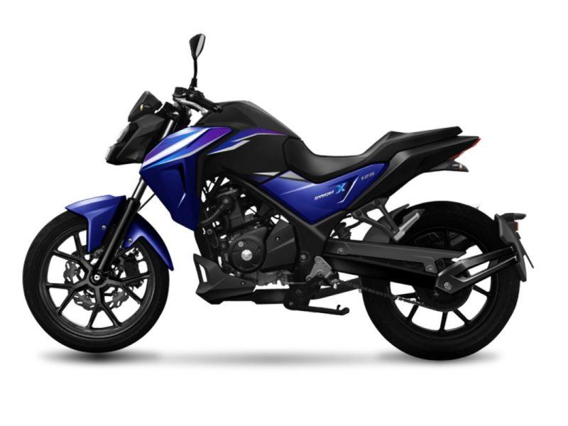 NHX 125 Blue