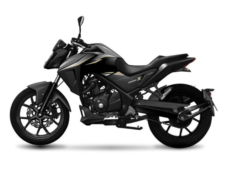 NHX125 Black