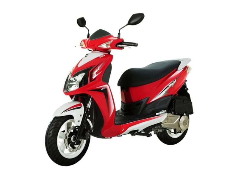 Sym Jet 4 50cc Red